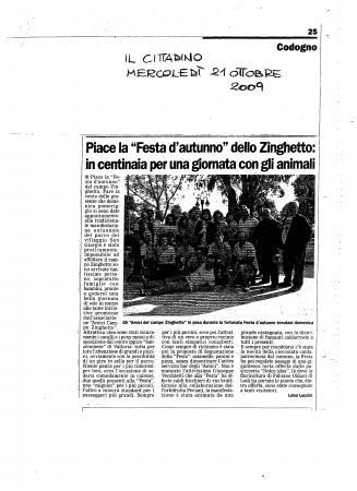 2009 autunno articolo il cittadino