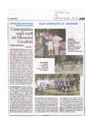 2012 Articolo torneo il giorno